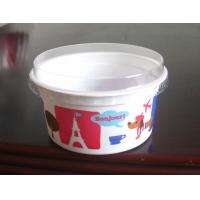 China Round Bowl Disposable Plastic Dessert Cups , 4.0cm 130ml 4 Oz Plastic Drinking Cups on sale