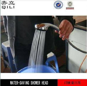 QL117S Energy-saving shower Efficient water saving shower head Manufactures