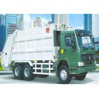 6x4 LHD / RHD Refuse Compactor Truck , HW70 Cabin Rubbish Collection Truck Manufactures