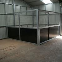 High Effective Customized Horse Stable Box Horse Stall Indoors With Side Door Manufactures