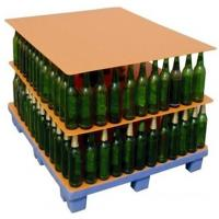 1000x 1200mm Glass Bottles PP Corrugated Plastic Layer Pads / PP Hollow Board Manufactures