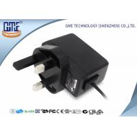 5V 2000mA 3 UK Prong AC To DC Power Adapter , Medical Power Adapter Different Sizes Manufactures