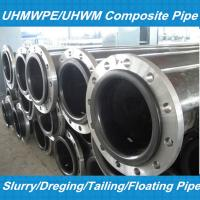 UHMWPE Dredge Pipe With DN65-800MM/UHMWPE PIPE Manufactures