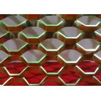 China 1 . 0 mm Thickness Expanded Metal Mesh Aluminum For Decoration on sale