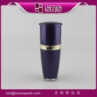 L036 Drum shape 15ml 30ml 50ml 80ml 120ml manufacturing cosmetic acrylic bottle Manufactures