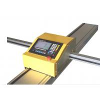 Portable CNC Sheet Metal Cutting Machine With Plasma / Flame Cutting Mode for sale
