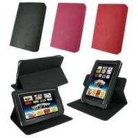 China Black Pink Red PU Leather Rotate Protective Barnes & Noble Nook Cover Case on sale