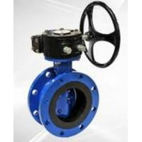 Flanged Resilient Sealing Stainless Steel / Ductile Iron Butterfly Valve 1.0MPa / 1.6MPa,SS304,316 Manufactures