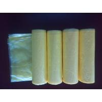 HDPE 30 Liter Colored Garbage Bags ,Plastic High Density Trash Bags 450 * 500mm Manufactures