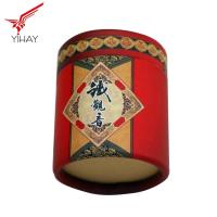 CMYK Printing Round Cardboard Gift Box Customized Size For Packaging Manufactures