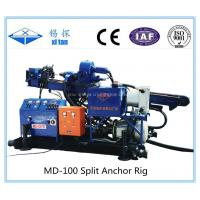 MD-100A Mining Exploration Skid Mounted Anchor Drilling Rig Manufactures