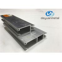 Customized Sliding Open Style Aluminium Door Frames With 6063-T5 Length 3m - 6m Manufactures