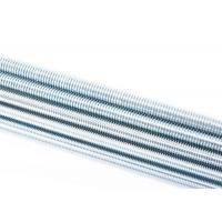 High Strength Grade 4.8 Full Thread Stud , Threaded Carbon Steell Rod Manufactures