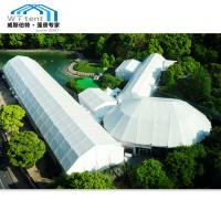 China Aluminum Alloy Polygon Tent 1500 People , Outdoor Event Marquee Tent on sale
