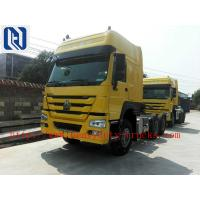 Red 40 Ton 6x4 Prime Mover Trailer Truck Diesel 336HP , EURO II Standard , Global Machine for sale