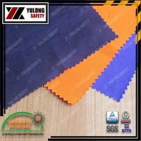 Buy cheap CVC flame retardant fabric for garment from wholesalers