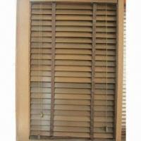 Wooden Blind, 50mm Slat with Ladder Type/Classical/Durable/Horizontal Folding and Overturn Free