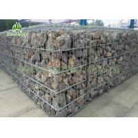 Galvanized Welded Wire Mesh Gabion Fence Box for Retaining Stone Wall Manufactures
