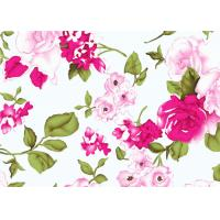 Beautiful Floral Cotton Print Fabric By The Yard 60*60 90*88 Manufactures