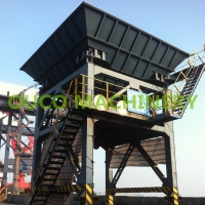 Regular Fixed 32m3 CE Material Hopper Port Discharging Equipment Manufactures