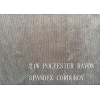 90%P 8%N 2%SP 21W POLYESTER RAYON SPANDEX CORDUROY FOR COAT Manufactures