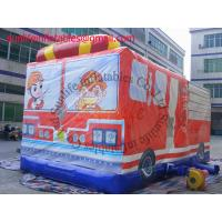 inflatable fire car bouncer castle Manufactures