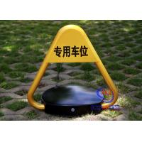 CE Approved Remote Control Car Parking Locks Barrier Rise Height 460mm A3 Steel Triangle Car Blocker Manufactures