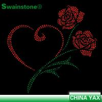 T0817 China Store Custom Flower iron on transfer motifs,transfer iron on motifs,wholesale iron on transfer Manufactures