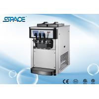 Small Size Table Top Soft Ice Cream Making Machine Low Noise Twin Twist Flavor Manufactures