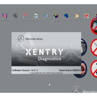 Automotive Diagnostic Software MB STAR C3/C4  HDD DELL Format 160G For Benz Manufactures