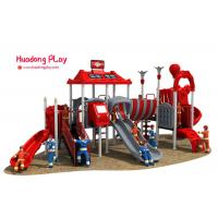China LLDPE Material Outdoor Play Equipment New Mordern Design Light Weight on sale