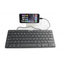 Wired Ultrathin Ipad Keyboard Portable With 8 Pin Connectors Manufactures