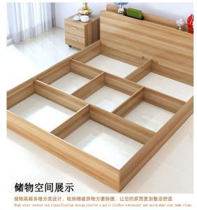 Quality Low Price Modern minimalist type 1.2 meters 1.5 meters 1.8 meters double bed for sale