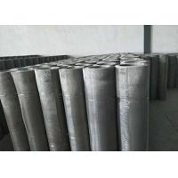 20 Micron Stainless Steel Mesh Low Elongation And High Tension Manufactures