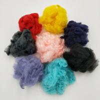 China Man-Made Fibre, Adequate Stock ,Felt Fabric Raw Materials Using Recycled Bottle Flakes, Polyester Staple Fibre(PSF) on sale