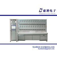 24 Position Quick Connector with Pulse Acquistion Single Phase Energy Meter Test Bench Manufactures