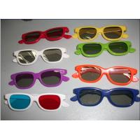 Colorful Plastic Circular Polarized 3D Safety Glasses For Cinema Manufactures