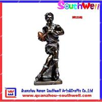 China Polyresin sport trophy,rugby award trophy on sale