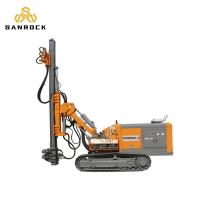 China 60m Depth  Industry Anchor Drilling Rig Dual Power Crawler Diesel Power Type on sale