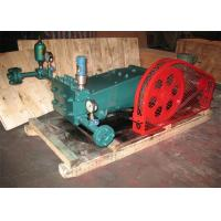 Three Cylinder Diesel Fuel Transfer Pump With Cast Iron / Stainless Steel Body Manufactures