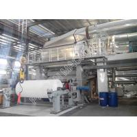 China High Efficiency Tissue Paper Making Machine Wood Virgin Pulp Raw Material on sale