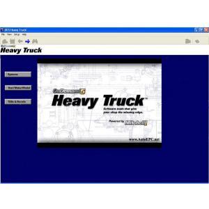 Mitchell OnDemand 5 Medium Trucks Edition 2014 version Manufactures