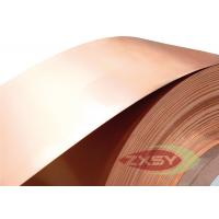 ASTM C1100 Thin Copper Foil Roll For Stained Glass Panel / Tiffany Lamp Manufactures