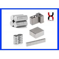 Strong Neodymium NdFeB Permanent Magnet For Generators Industrial Motor