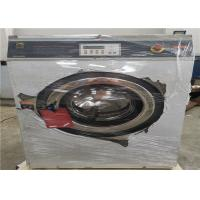 China SS 304 Metal Parts Commercial Laundry Washing Machine 100kg Loading Capacity on sale