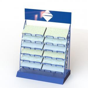 12Layers Counter Top Display Racks For Ceramic Tile Sample Manufactures