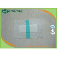 China Transparent Waterproof Polyurethane Film Dressing Permeable With Absorbent Pad on sale