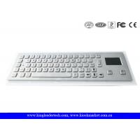 China Dust-proof And Liquid-Proof Panel Mount Industrial Kiosk Touchpad Keyboard on sale