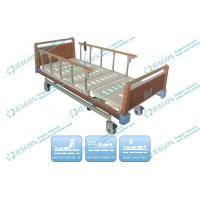 Collapsible Aluminium Guardrails medical electric beds Height adjustable 380 - 650mm Manufactures