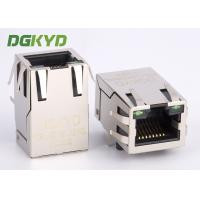 Tap Up RJ45 with Transformer megabit ethernet magnetic connector jack custom Manufactures